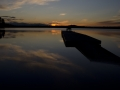 Kvällsljus över Oresjön